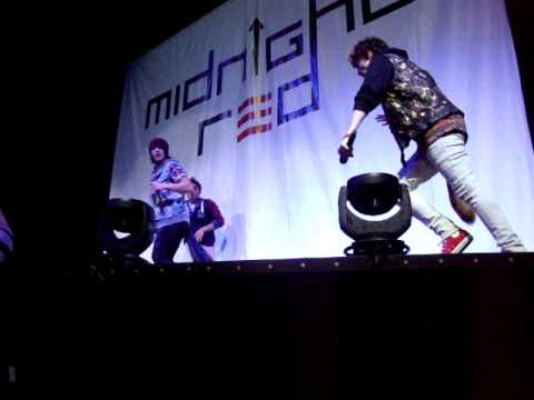Download Midnight Red opening for NKOTBSB
