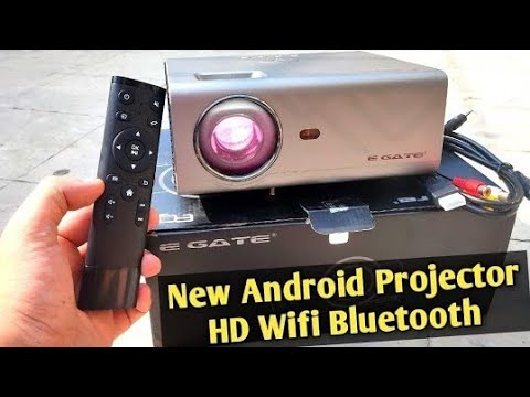 Egate K9 Android Projector Unboxing and Review