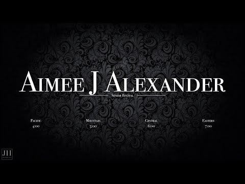 Aimee J Alexander: Senior Composition Recital