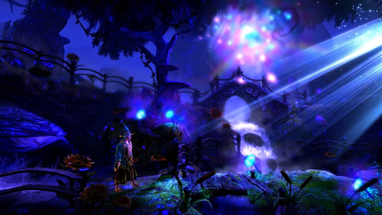 trine 2 - wizard u0026 39 s forest -  live wallpaper