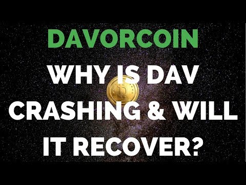 DAVORCOIN: 2 Reasons Why DAV Is Down And What We Should Do