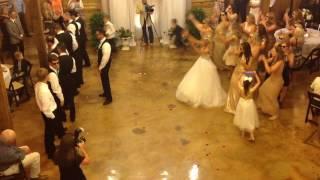Best Surprise Wedding Dance Battle!!! (Kami and Luke)