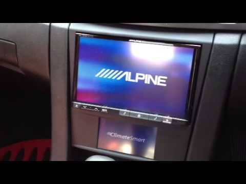 """VE Commodore Alpine 8"""" Navigation Screen Upgrade by Complete Car Sound"""