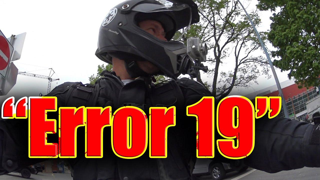 Yamaha error code 19