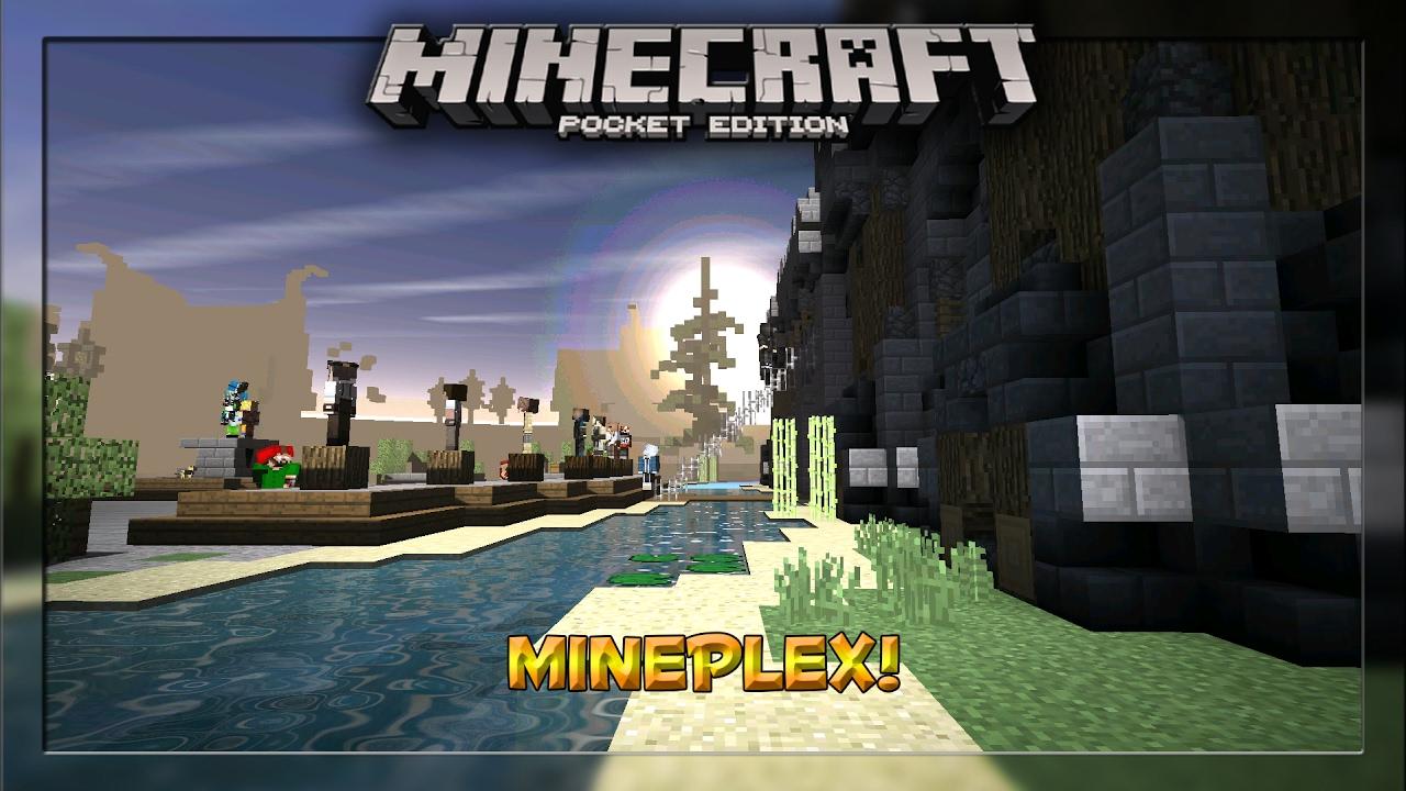 how to play mineplex on minecraft pe