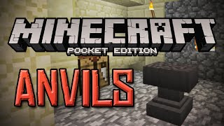 ANVILS IN 0.12.0! - Minecraft PE 0.12.0 OFFICIAL GAMEPLAY (Pocket Edition)