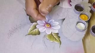 Roberto Ferreira – Pintura em pano de Prato – Parte 2