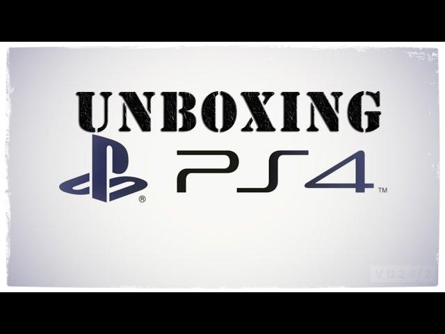 Смотреть прохождение игры Распаковка Playstation 4   PS4 Unboxing. (rus)