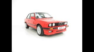 An Immaculate BMW E30 318is with a Huge Service History File - SOLD!