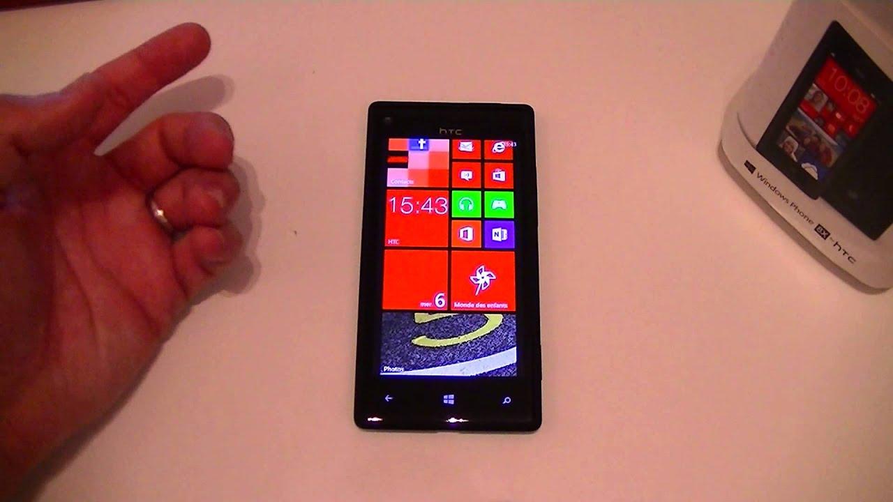 Htc windows phone 8x le est pictures - Test Du Htc 8x Par Top For Phone Fr