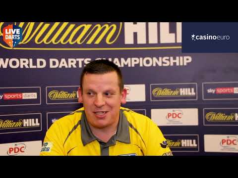 "Dave Chisnall: ""My wife tells me to practice and I've actually listened to her for once!"""