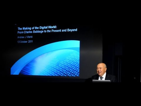 The Making of the Digital World  - Andrew Viterbi - Royal Academy of Engineering