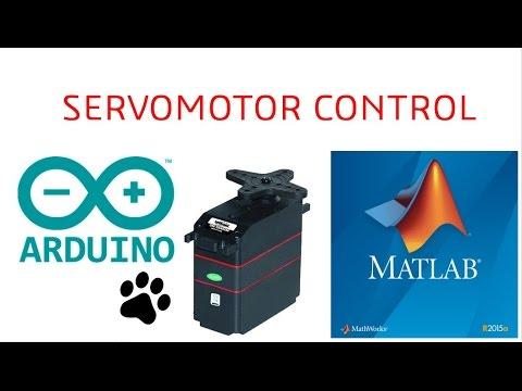 Control De Servomotor Con Matlab Arduino