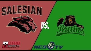 Salesian College Preparatory vs St. Patrick-St. Vincent Boys Basketball LIVE 1/11/19