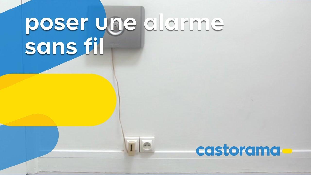 Poser une alarme sans fil (Castorama)  Doovi