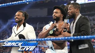 The New Day's New Year Celebration: SmackDown LIVE, Jan. 1, 2019