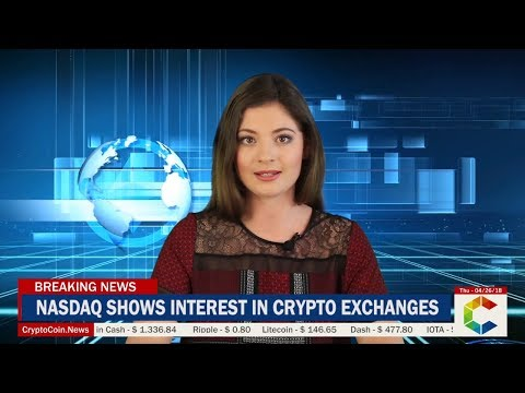 Breaking News: NASDAQ Shows Interest In Becoming A Cryptocurrency Exchange