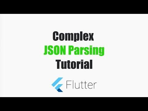 Complex JSON Parsing in Flutter / Dart – MOBILE PROGRAMMING