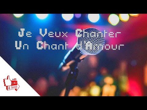 Je Veux Chanter Un Chant D'amour Cover By Alain Ndagano