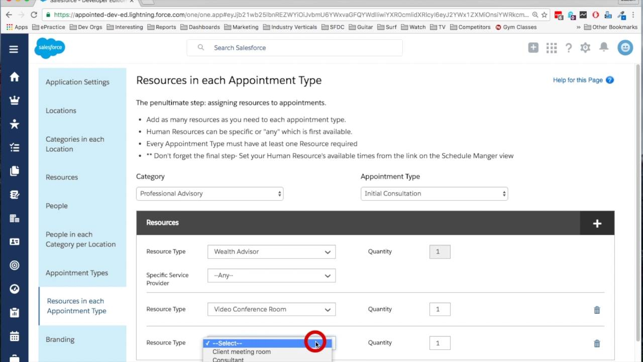 Appointiv - appointment scheduling app for Salesforce - Practivo