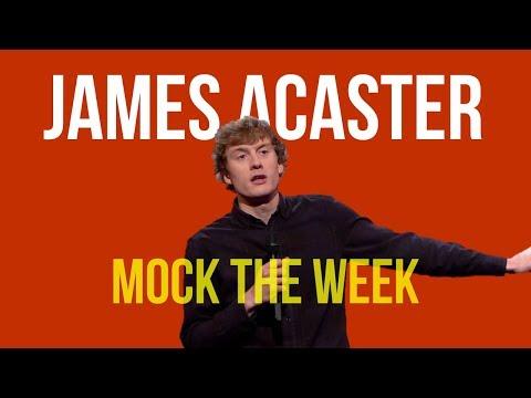 James Acaster MOCK THE WEEK COMPILATION series 16