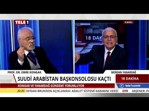 18 Dakika - (16 Ekim 2018) Merdan Yanardağ & Emre Kongar | Tele1 TV