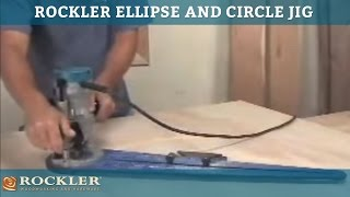 The Rockler Ellipse And Circle Jig