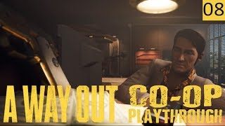 A WAY OUT - PART 8 - Revenge On Harvey - Co-Op Gameplay (1440p)