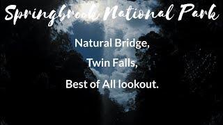 Springbrook National Park - Hiking Natural Bridge, Twin Falls,…