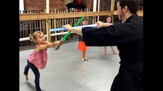 Sword Class NYC - Lightsaber Fitness for Kids