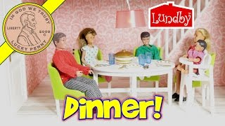 lundby smland doll house fish tank dining room final video