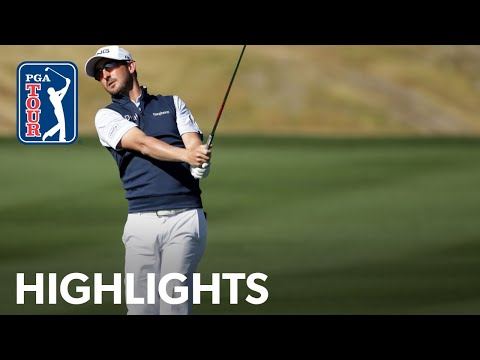 Andrew Landry shoots 7-under 65 | Round 3 | The American Exp