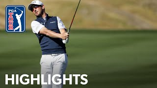 Andrew Landry shoots 7-under 65 | Round 3 | The American Express 2020