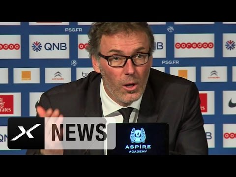 "Vier Tore, aber Laurent Blanc findet PSG ""zu ineffektiv"" | Paris Saint-Germain - RC Lens 4:1"