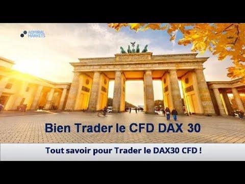 Trader le DAX 30 CFD en 2019 !