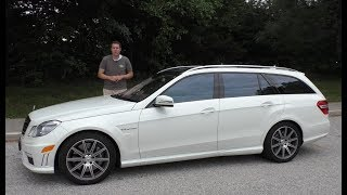 Download I Bought a Mercedes E63 AMG Wagon and Drove It 1,200 Miles Home Mp3 and Videos