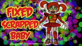 [FNAF 6 SPEED EDIT] Fixed Scrap Baby l JHH_114 YT