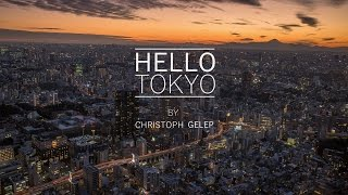 Hello Tokyo - Hyperlapse / Slow-Motion