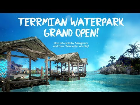 Thermian Waterpark ALL Quests (except the shitty fishing one) | BDO Event