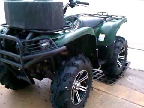 700 grizzly moose atv bumper walk around video 2 youtube sciox Image collections