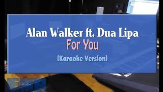 Convex (Alan Walker, Dua Lipa) - For You (4U) (KARAOKE VERSION)