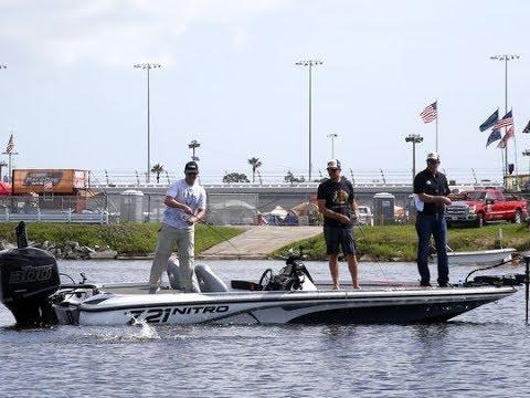 Gone Fishing with Martin Truex, Jr and Kevin VanDam on Daytona's Lake Lloyd