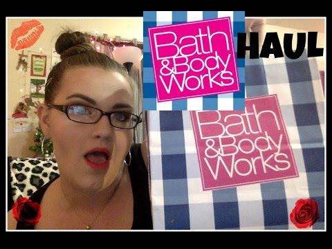 Bath & Body works Haul, semi annual sale, beauty fun