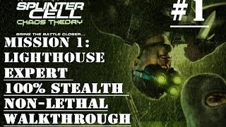 Splinter Cell Chaos Theory Mission 1 100% stealth No commentary