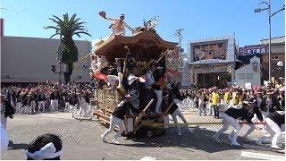 令和元年 岸和田だんじり祭 パレードKishiwada Danjiri Matsuri2019/09/14