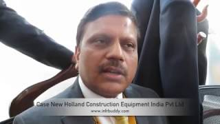 Mr.Abhijit Gupta - MD - Case New Holland Construction Equipment India - bauma Conexpo India 2016