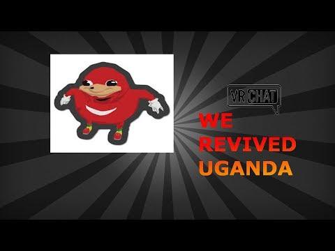 VR CHAT WE REVIVED UGANDA !