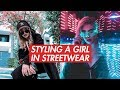 Styling a Girl in Streetwear | Outfit Challenge