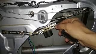 Ремонт заднего замка Mitsubishi Lancer 9