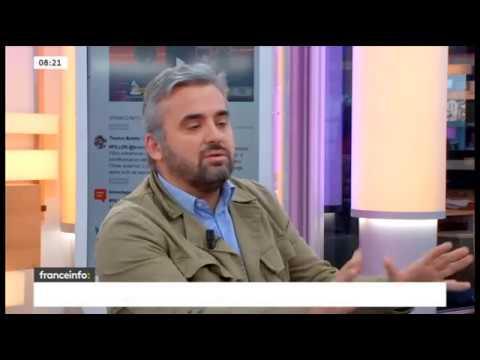Alexis  Corbière interrogé sur France Info le 13/02/2017
